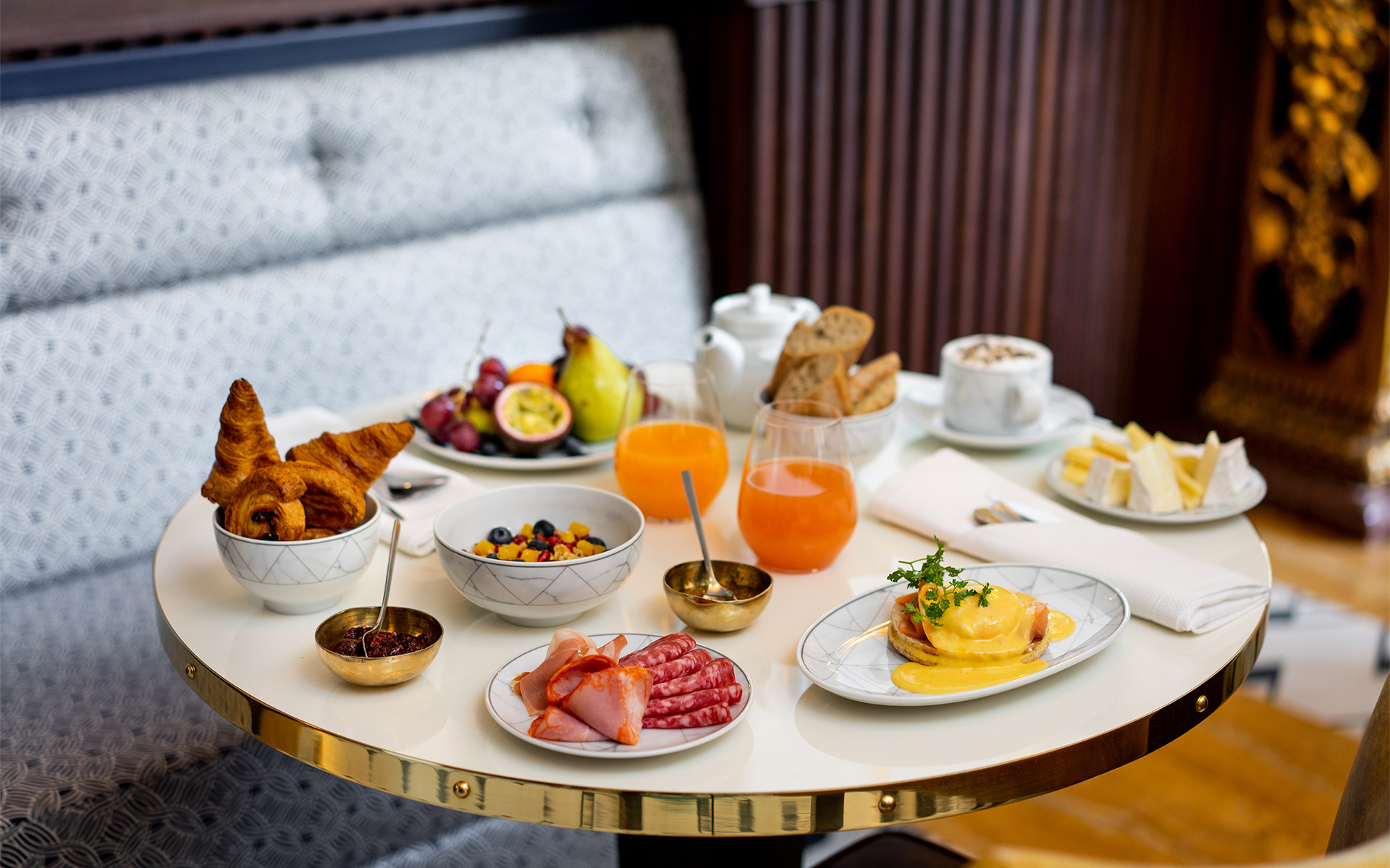Maison Albar Hotels breakfast Collection