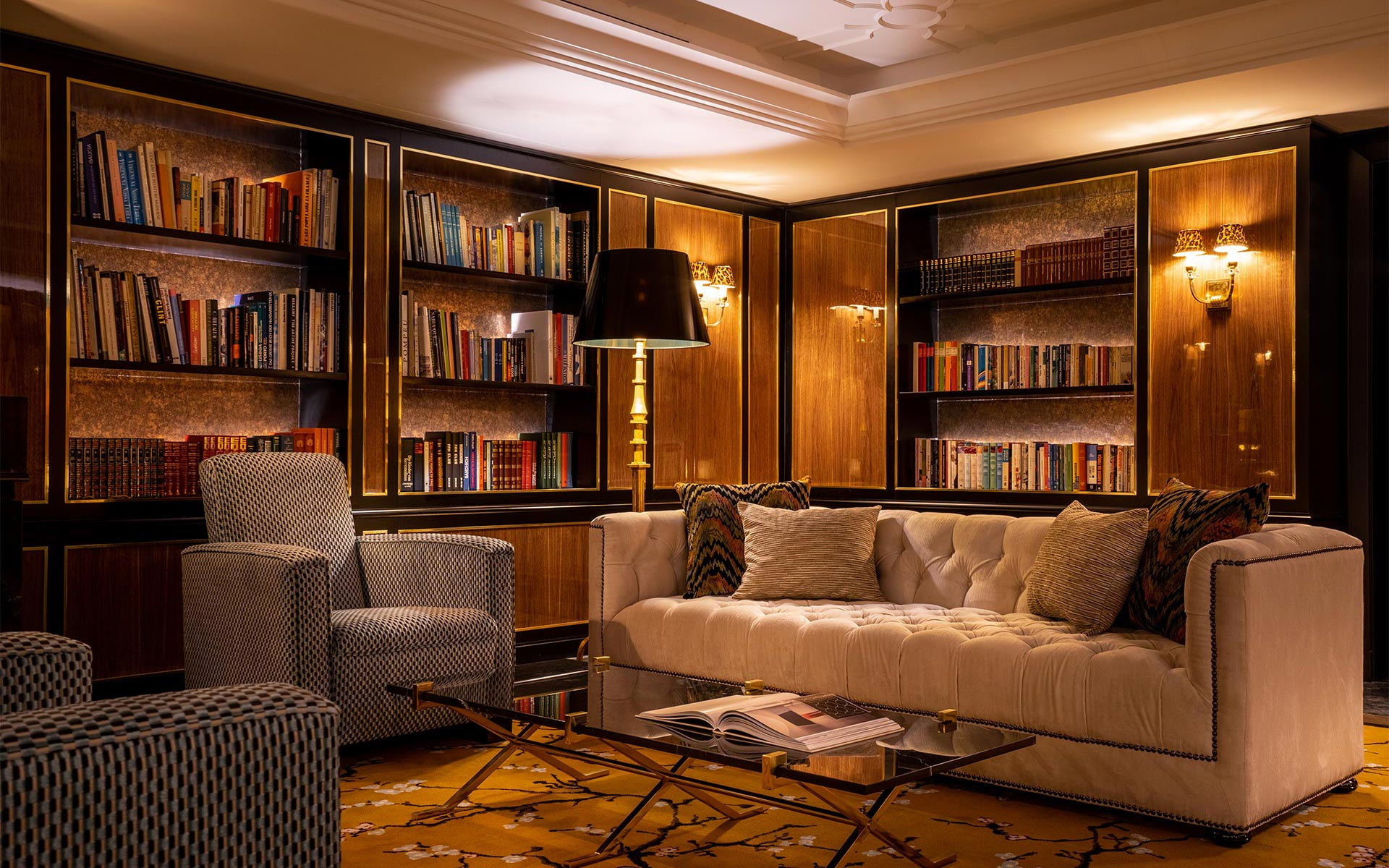 Maison Albar Hotels Le Monumental Palace library